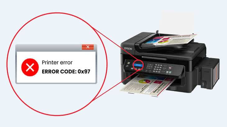 How to Fix Epson Error Code 0x9a